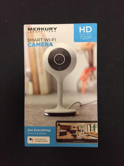 BRAND NEW in Box MERKURY Innovations Smart Wi-Fi Camera in Original Box (Dented Box)
