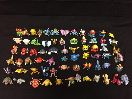 Lot of Vintage Pokemon Tomy Figures from Adult Owned Collection - Over $1000 Retail