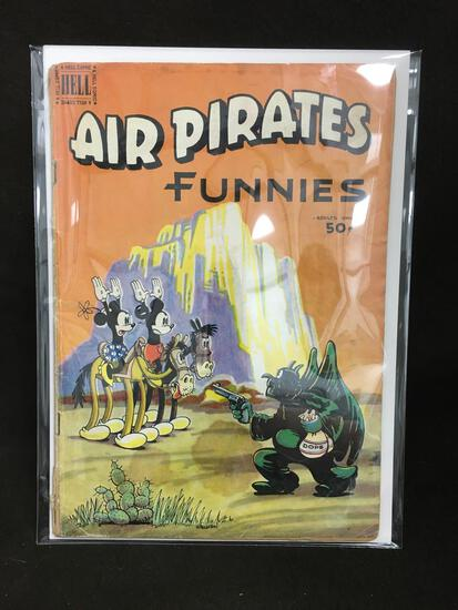 Air Pirates Funnies from Dell Comics Vintage Comic Book - ATTIC FIND!
