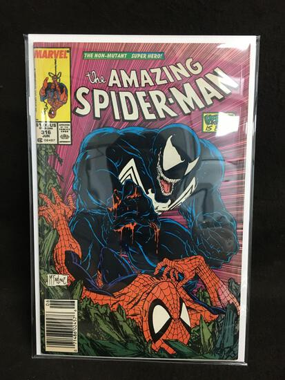 The Amazing Spider-Man #316 Mark Jeweler Insert Vintage Comic Book - ATTIC FIND!
