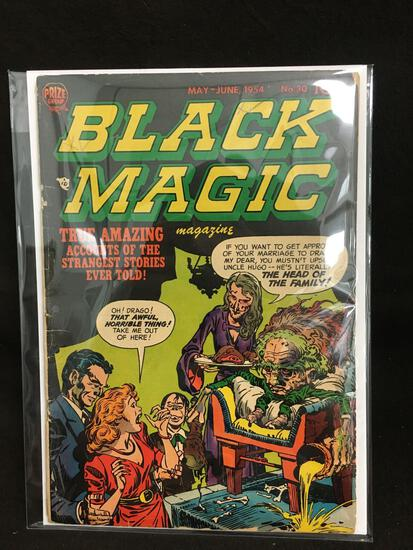 Black Magic #30 Vintage Comic Book - ATTIC FIND!