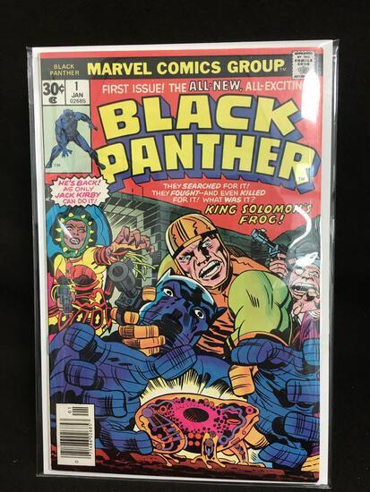 Black Panther #1 Vintage Comic Book - ATTIC FIND!