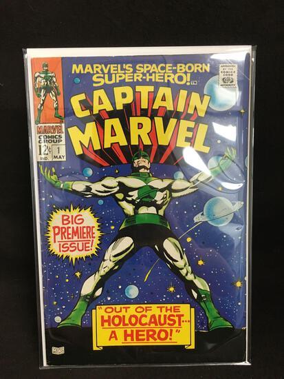 Captain Marvel #1 Vintage Comic Book - ATTIC FIND!
