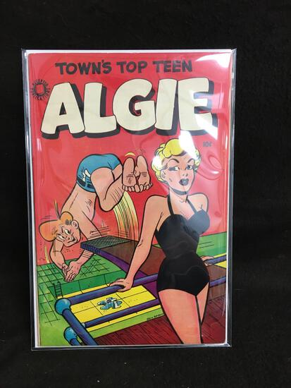 Town's Top Teen Algie Vintage Comic Book - ATTIC FIND!