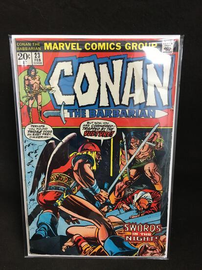 Conan The Barbarian #23 Vintage Comic Book - ATTIC FIND!
