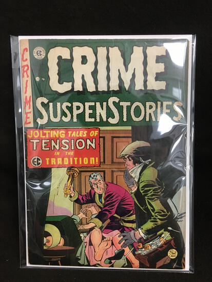 Crime SuspensStories #14 Vintage Comic Book - ATTIC FIND!