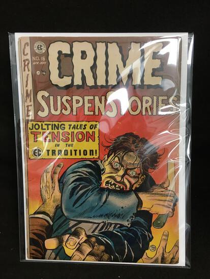 Crime SuspensStories #16 Vintage Comic Book - ATTIC FIND!
