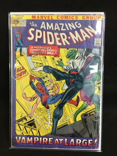 The Amazing Spider-Man #102 Vintage Comic Book - ATTIC FIND!