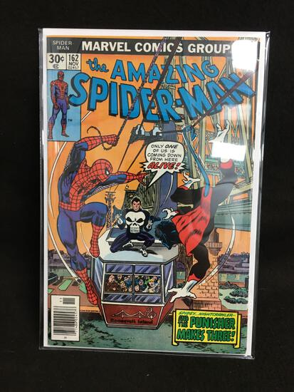 The Amazing Spider-Man #162 Vintage Comic Book - ATTIC FIND!