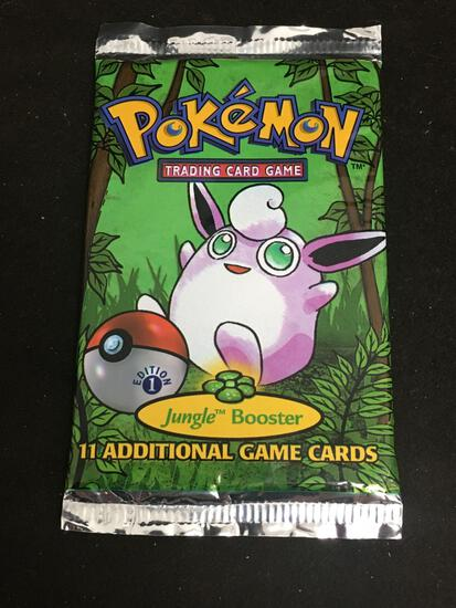 POKEMON Jungle 1st Edition SEALED NEW Booster Pack - High End