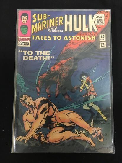Tales to Astonish (Sub Mariner and Hulk) #80