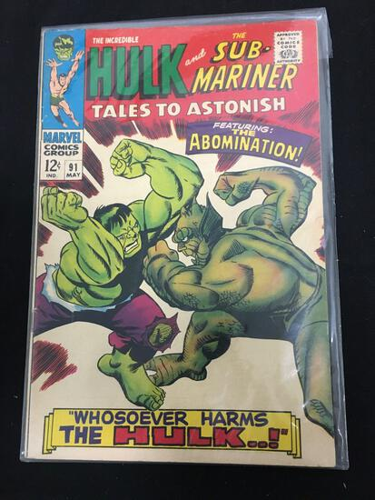 Tales to Astonish (Sub Mariner and Hulk) #91