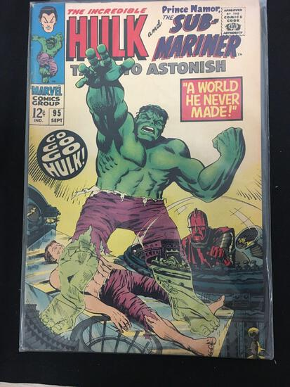 Tales to Astonish (Sub Mariner and Hulk) #95