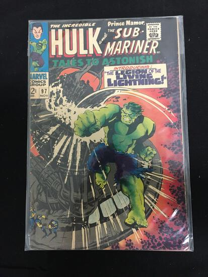 Tales to Astonish (Sub Mariner and Hulk) #97
