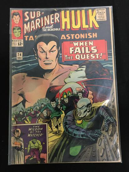 Tales to Astonish (Sub Mariner and Hulk) #74