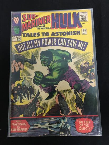 Tales to Astonish (Sub Mariner and Hulk) #75