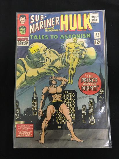 Tales to Astonish (Sub Mariner and Hulk) #78