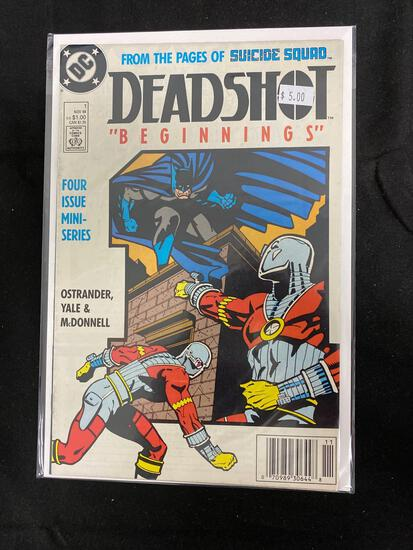 Deadshot #1 Comic Book from Amazing Collection