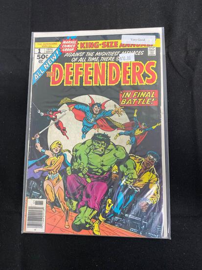 The Defenders #1 Comic Book from Amazing Collection