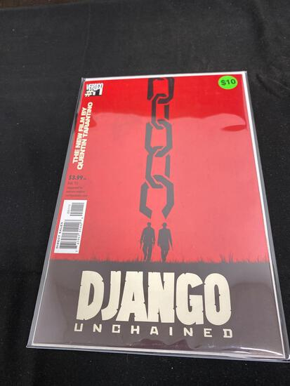 Django Unchained #1 Comic Book from Amazing Collection