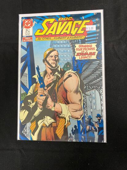 Doc Savage #1 Comic Book from Amazing Collection