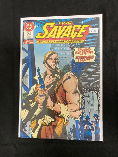 Doc Savage #1 Comic Book from Amazing Collection B