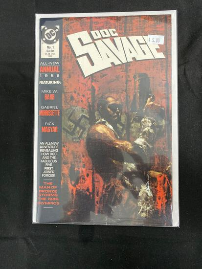 Doc Savage Annual #1 Comic Book from Amazing Collection