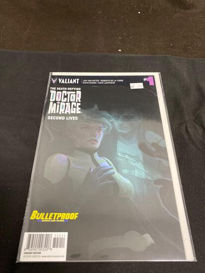 The Death-Defying Doctor Mirage #1 Comic Book from Amazing Collection
