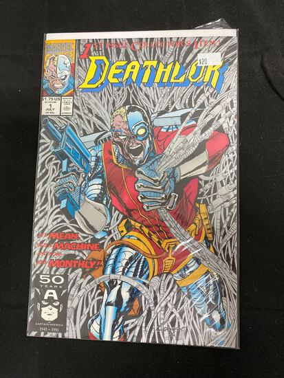 Deathlok #1 Comic Book from Amazing Collection