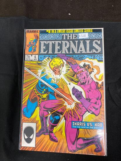 The Eternals #6 Comic Book from Amazing Collection
