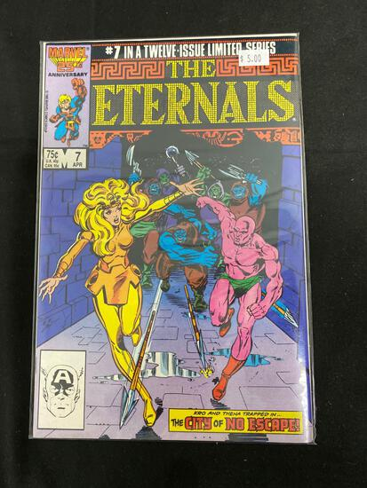 The Eternals #7 Comic Book from Amazing Collection