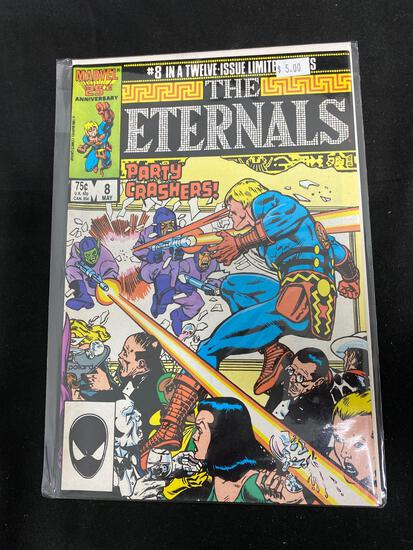 The Eternals #8 Comic Book from Amazing Collection