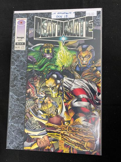 Deathmate Black #1A Comic Book from Amazing Collection