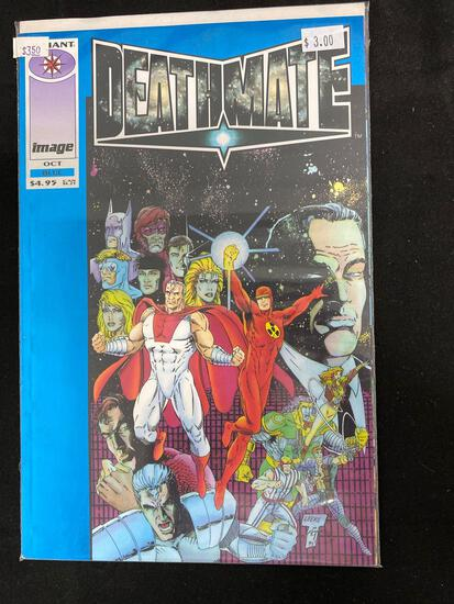 Deathmate Blue #1 Comic Book from Amazing Collection