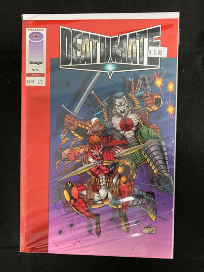 Deathmate Red #1 Comic Book from Amazing Collection