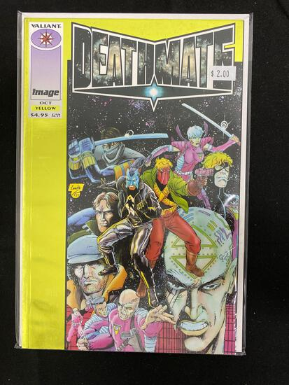 Deathmate Yellow #1 Comic Book from Amazing Collection