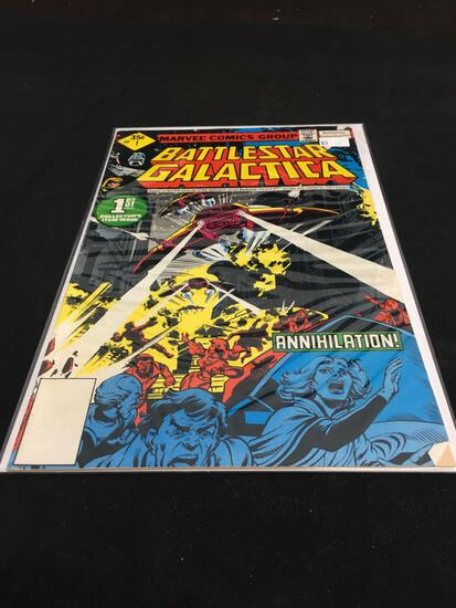 Battle Star Galactica #1 Comic Book from Amazing Collection