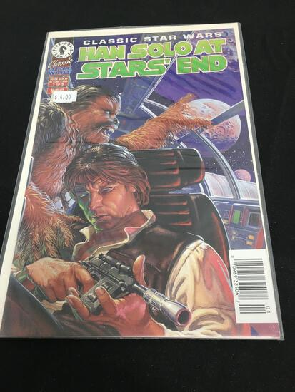 Classic Star Wars Han Solo At Star' End #1 Comic Book from Amazing Collection