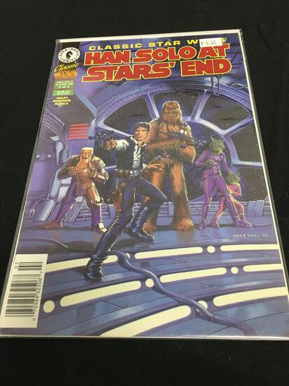 Classic Star Wars Han Solo At Star' End #2 Comic Book from Amazing Collection