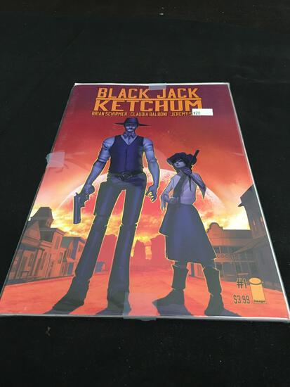Black Jack Ketchum #1/2 Comic Book from Amazing Collection
