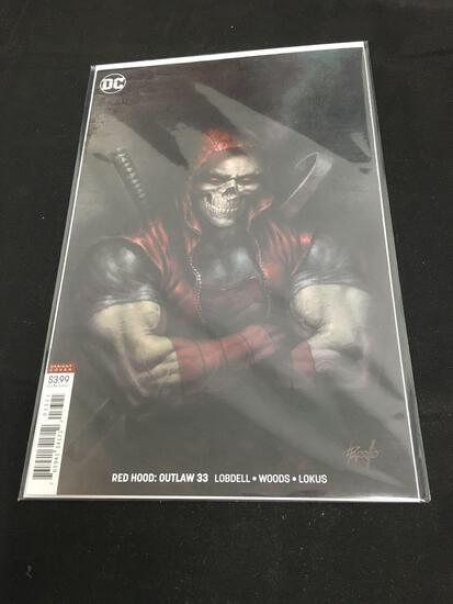 Red Hood: Outlaw Variant Cover #33 Comic Book from Amazing Collection