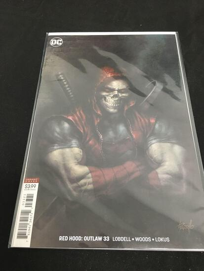 Red Hood: Outlaw Variant Cover #33 Comic Book from Amazing Collection B