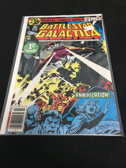 Battle Star Galactica Collector's Item Issue #1 Comic Book from Amazing Collection