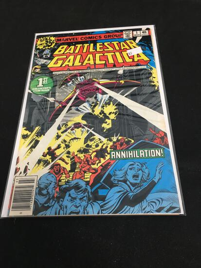 Battle Star Galactica Collector's Item Issue #1 Comic Book from Amazing Collection B