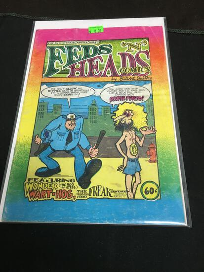 Feds 'N' Heads #1 Comic Book from Amazing Collection