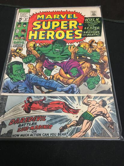 Marvel Super-Heroes #27 Comic Book from Amazing Collection