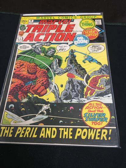 Marvel Triple Action #4 Comic Book from Amazing Collection
