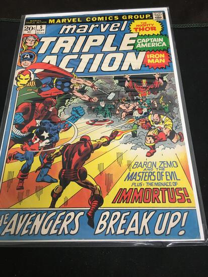 Marvel Triple Action #5 Comic Book from Amazing Collection