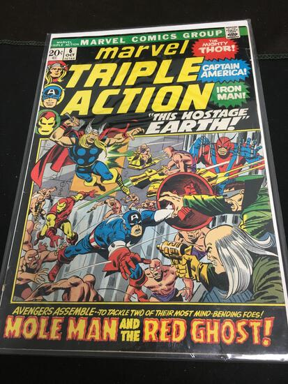Marvel Triple Action #6 Comic Book from Amazing Collection
