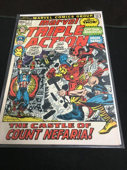 Marvel Triple Action #7 Comic Book from Amazing Collection